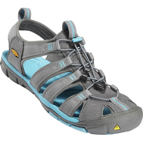 Keen Clearwater CNX Sandals Women Gargoyle/Norse Blue